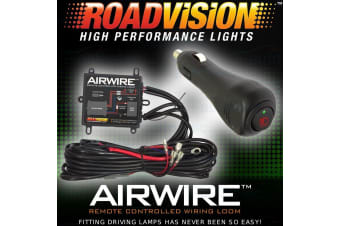 Airwire Remote Control Wiring Kit Harness Driving Light Lights Lamp Led Hid 4Wd