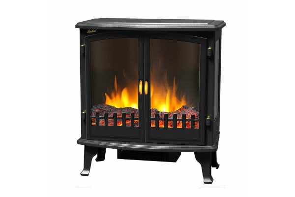 Heller 1800W Electric Freestanding Fireplace Heater (HFH1800)