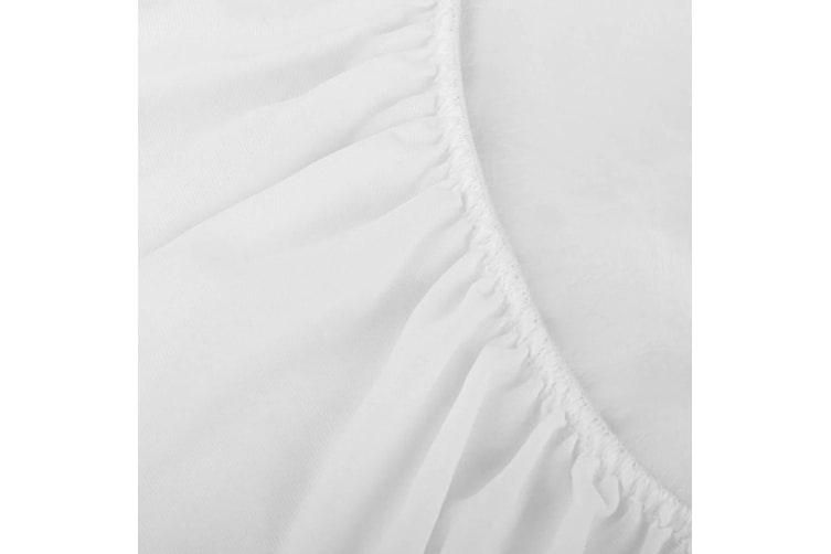 Giselle Bedding Single Size Terry Cotton Mattress Protector