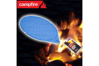 CAMPFIRE SILICONE TRIVET NON SLIP POT PAN HOLDER HEAT RESISTANT BENCH TOP 526145