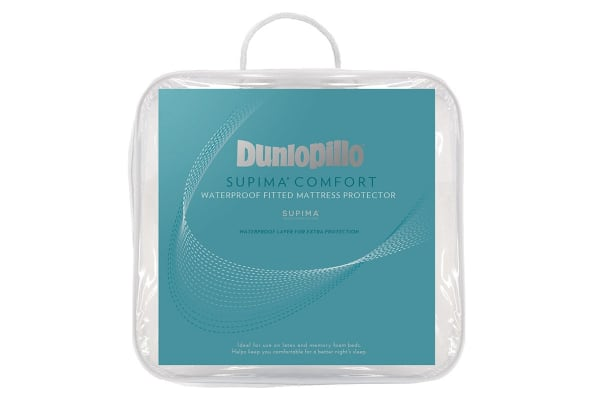 Dunlopillo Supima Comfort Waterproof Mattress Protector (Double)