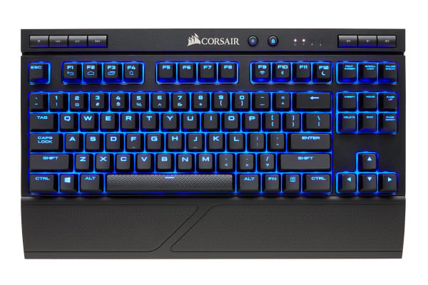 Corsair Gaming K63 Wireless Mechanical Keyboard Cherry Red
