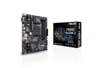 ASUS PRIME B450M-A mATX For AMD Ryzen Socket AM4