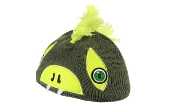 Regatta Great Outdoors Childrens/Kids Animally II Winter Hat (Cypress/Lime Punch) (4-6 Years)