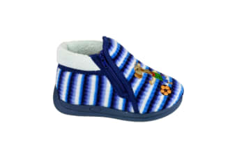 Mirak Safari Childrens Unisex Slippers (Blue) (19 EUR)