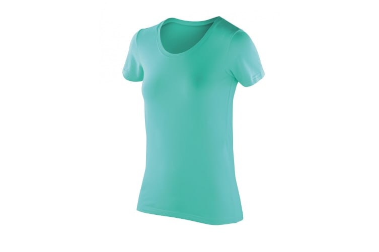 Spiro Womens/Ladies Softex Super Soft Stretch T-Shirt (Peppermint) (2XL)