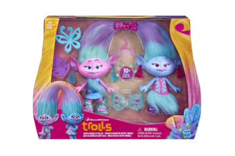 Trolls Satin and Chenille Fashion Pack