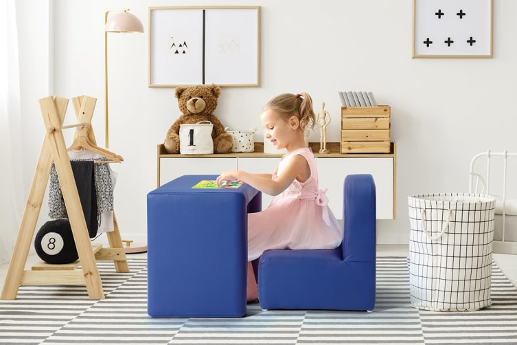 Ovela Kids Transformer Chair Table - Navy