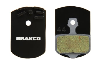 Brakco Organic Disc Pads With Heat-dissipation Fin For Avid Elixir