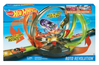 Hot Wheels Roto Revolution Race Track