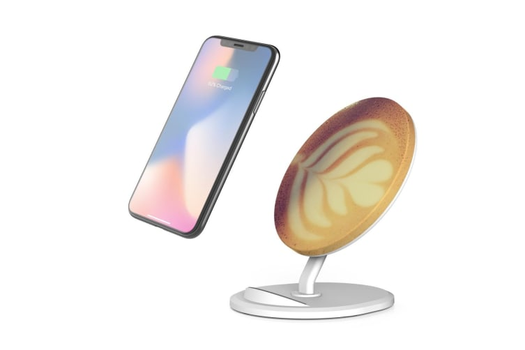 QI Wireless Charger For iPhone 11 Samsung Galaxy S20+ S20 Ultra Note 10+ Relax