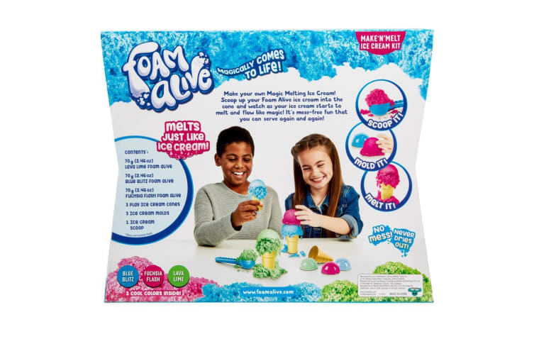 Foam Alive Series 1 Make N Melt Ice Cream Kit