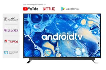 "Toshiba 55"" Smart 4K Android TV™ UHD LED TV"