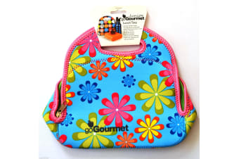 Go Gourmet Junior Insulated Lunch Bag - Bright Floral