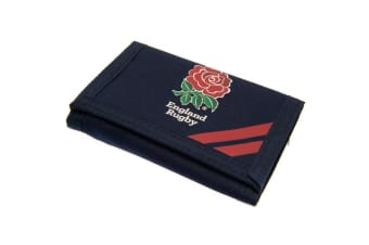 England RFU Touch Fastening Nylon Wallet (Navy/Red) (One Size)