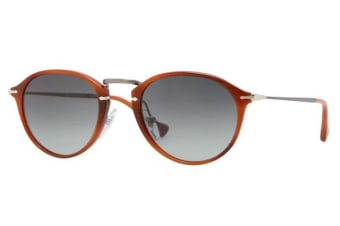 Persol PO3046S - Brown (Grey Shaded lens) Unisex Sunglasses