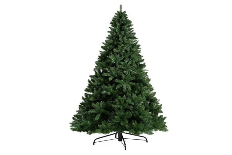 2.4M 8FT Christmas Tree Xmas Decoration Green Home Decor 1400 Tips