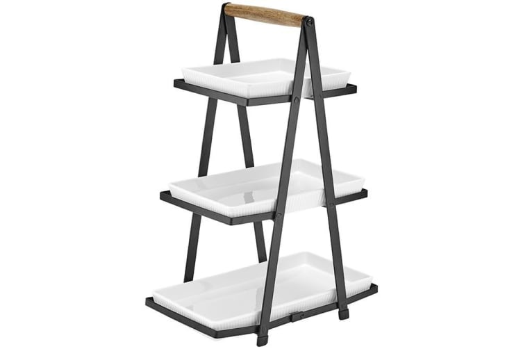 Ladelle Classica Serving Tower 3 Tier White