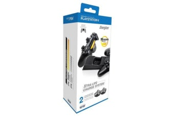 PDP Energizer 2X Extra Life Charge System For PS4
