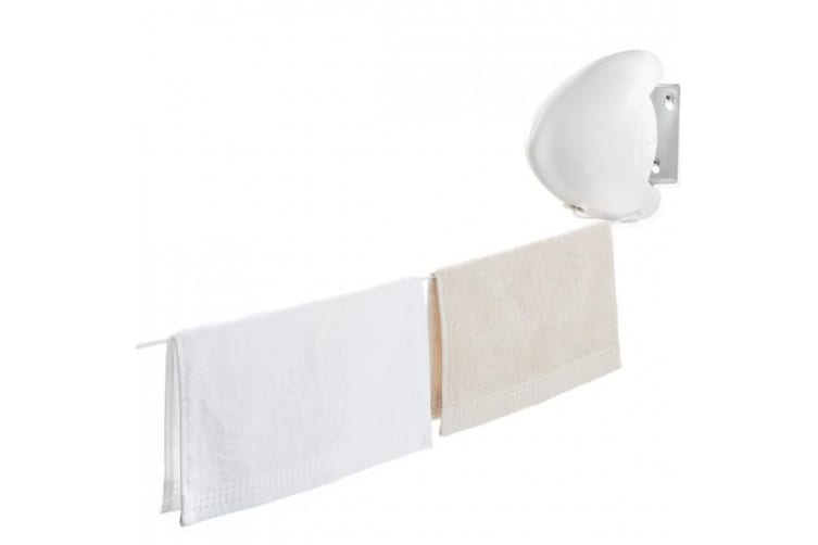 Leifheit Rollfix 80 Single Longline Wall Mounted Retractable Washing Line