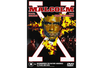 Malcolm X - Region 4 Rare- Aus Stock DVD PREOWNED: DISC LIKE NEW