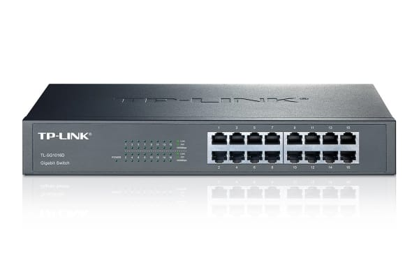 TP-Link 16 Port Unmanaged Switch (TL-SG1016D)