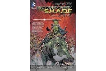 Frankenstein Agent Of S.H.A.D.E. Vol. 2 Son Of Satan's Ring(The New 52)