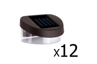 12x Solar Fence Light