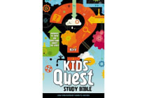 NIrV, Kids' Quest Study Bible, Hardcover - Answers to over 500 Questions about the Bible