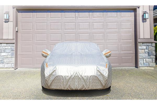 Aluminum waterproof car cover for Large SUV or Large long motor YXXL