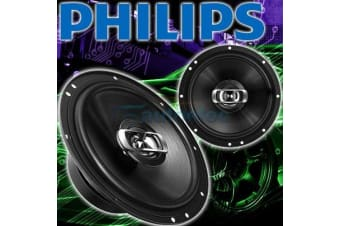 "PHILIPS CSQ606 160W CAR AUDIO STEREO SYSTEM SPEAKERS PAIR 152CM 6"" 2 WAY NEW"