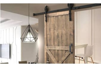 Antique Classic Sliding Barn Single Door Track Kit 2.44m