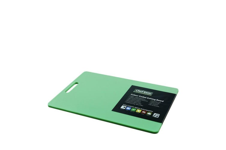 Chef Inox Cutting Board 300x450x12mm Green
