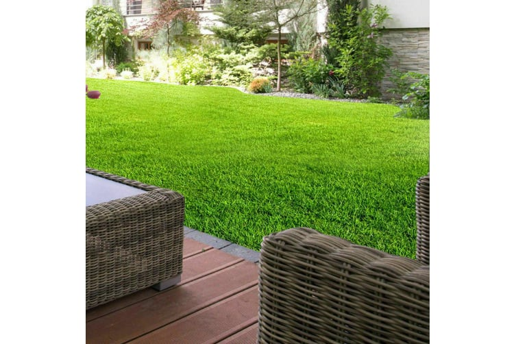 10-60 SQM Synthetic Turf Artificial Grass Plastic Plant Fake Lawn Flooring  -  No15mx15cm1 Roll Grass Joining Tape
