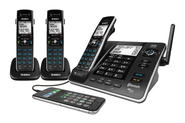 Uniden XDECT8355 Digital Technology Cordless Phone System (3 Phones)