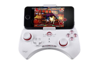 Ipega Bluetooth Multimedia Controller Game Joystick Android Os Pg-9025 White