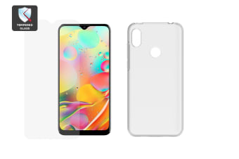 Kogan Agora XI Accessory Pack (TPU & Tempered Screen Protector)