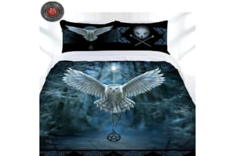 Anne Stokes Awaken Your Magic Quilt Cover Set Double