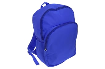 Mucky Fingers Unisex Kids Plain School Backpack/Rucksack (Blue)