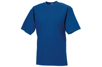 Russell Europe Mens Workwear Short Sleeve Cotton T-Shirt (Bright Royal) (2XL)