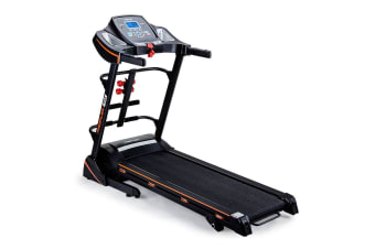 PROFLEX Electric Treadmill w/ Fitness Tracker Home Gym Exercise Equipment