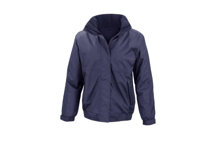 Result Core Ladies Channel Jacket (Navy Blue) (2XL)