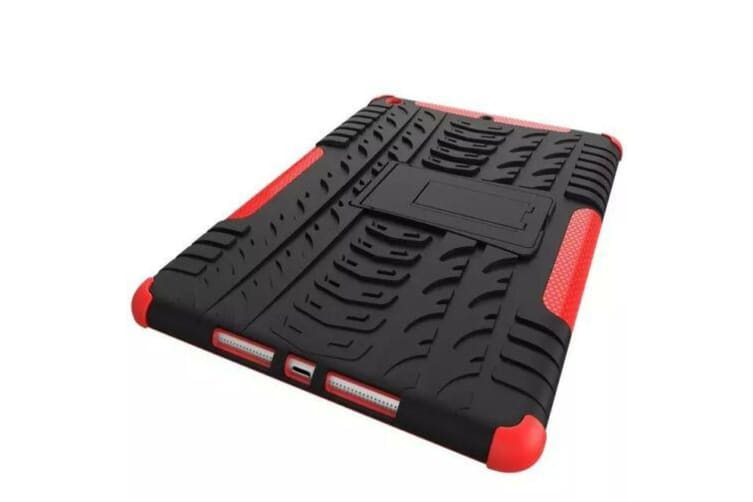 Heavy Duty Shockproof Case Cover Apple iPad 7th 10.2 2019-Red