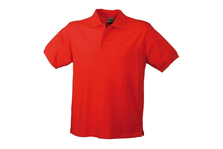 James and Nicholson Mens Classic Polo (Signal Red) (3XL)