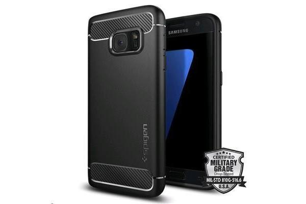 Spigen Galaxy S7 Rugged Armor Case-Black