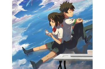 3D Your Name 076 Anime Wall Murals Self-adhesive Vinyl, XL 208cm x 146cm (WxH)(82''x58'')