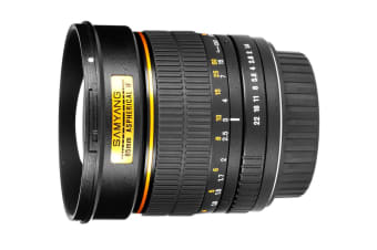 Samyang 85mm f/1.4 AS IF UMC Lens (Canon Mount)