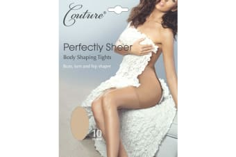 Couture Womens/Ladies Perfectly Sheer Body Shaping Tights (1 Pair) (Nude)