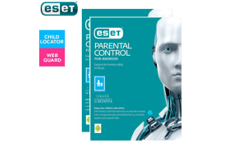 2PK ESET Parental Control Web Security 1yr Software Download for Android Devices