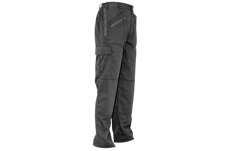 Portwest Womens/Ladies Action Work Trousers / Pant (Black) (Large x Tall)